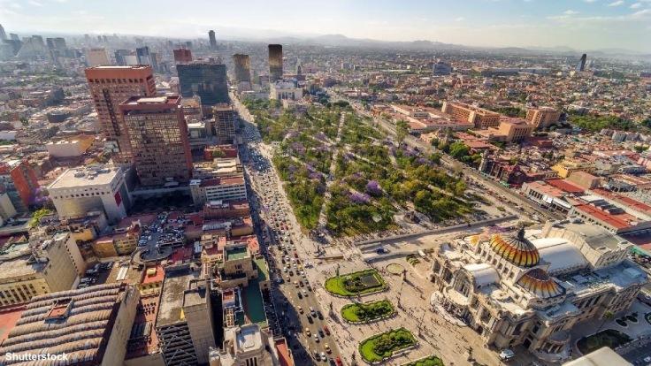 Vista Alameda y Bellas Artes Shutterstock