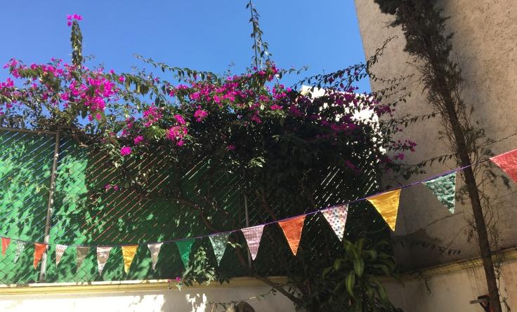 banderines en casa